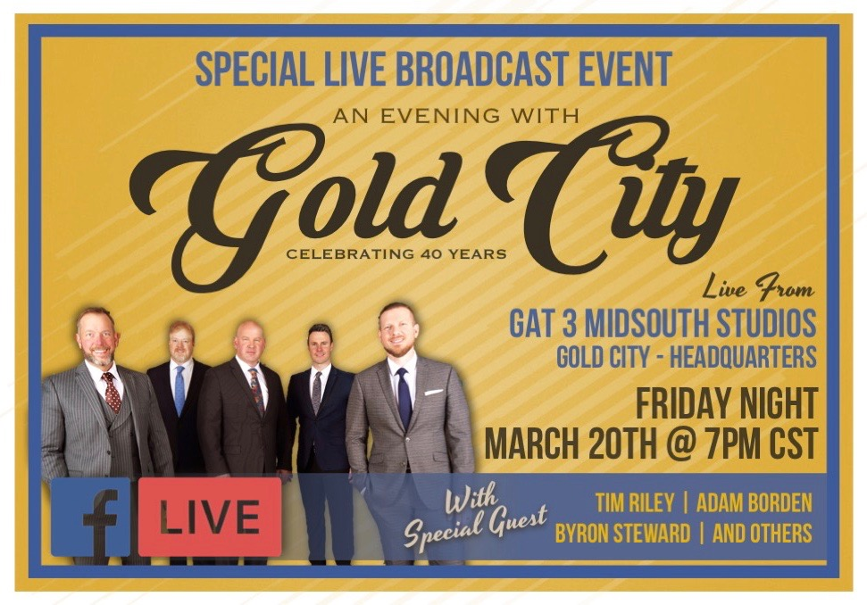 Gold City Free 40th Anniversary Concert
